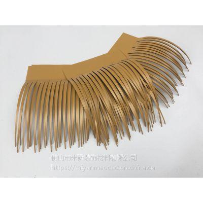山西省柳林县本地优质的铝制茅草厂家供应,质量放心