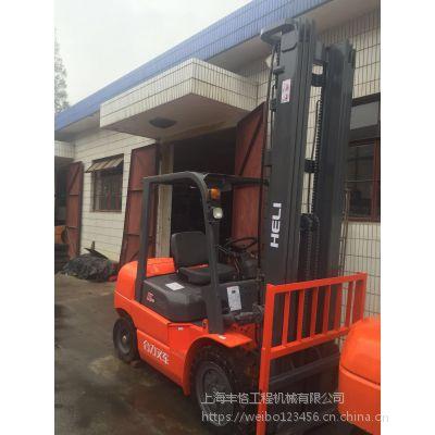 二手杭州叉车 hb款 车况精品 3吨内燃式柴油叉车