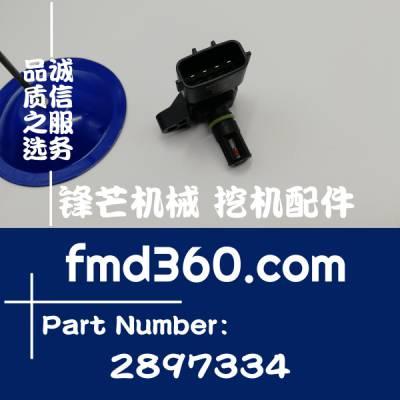 宁夏进口挖机配件康明斯增压器压力温度传感器2897334