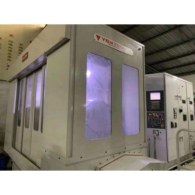 在位转让进口发那科系统【日本安田YBM700N-TT五轴卧式加工中心】