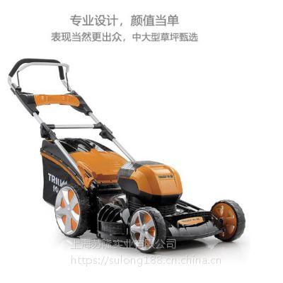 传峰58V手推式割草机充电式电动割草机除草机 草坪修剪机推草机