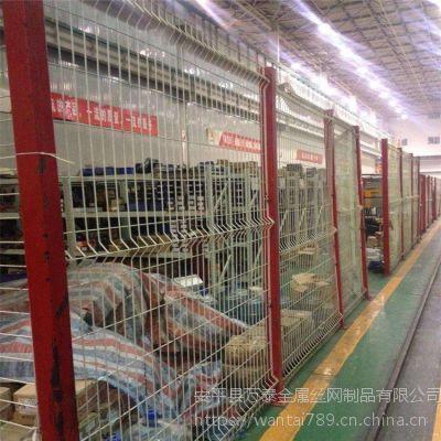 2米宽车间隔离网 车间护栏网 万泰防护网价格多少
