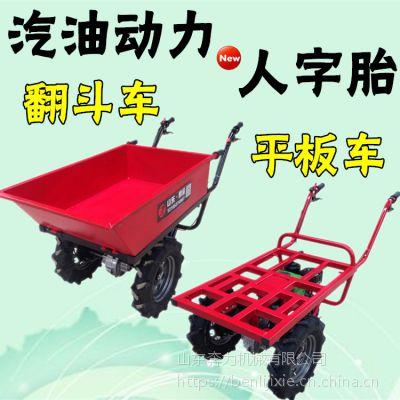 下坡速度平稳小推车 果农运水果双轮车 奔力SL-MX5