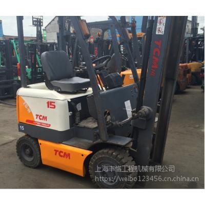 上海宝俸 丰田1.5吨电动叉车 前移式叉车