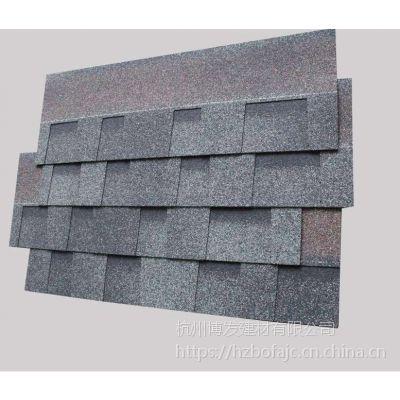 供应双层标准型叠层玻纤胎沥青瓦油毡瓦轻钢别墅瓦木屋瓦