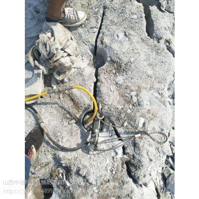 矿山无声破裂硬石头机械设备