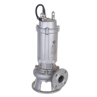 潜水不锈钢排污泵 65WQP25-7-1.5 wqp不锈钢排污泵 wq不锈钢排污潜水泵