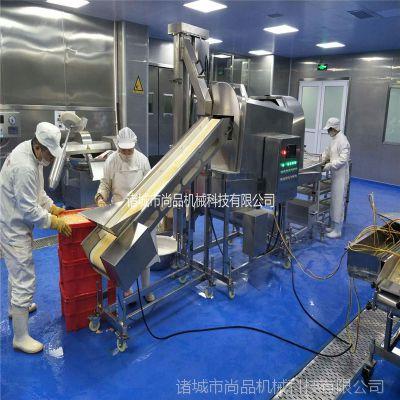 潍坊市鸡米花滚筒上粉机厂家 鸡米花滚筒上粉机 肉制品裹粉裹糠机
