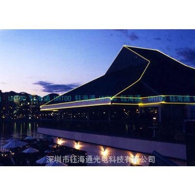 软弯曲 光纤导光条 通体光纤 发光线 发光条 钰海通软光纤系列