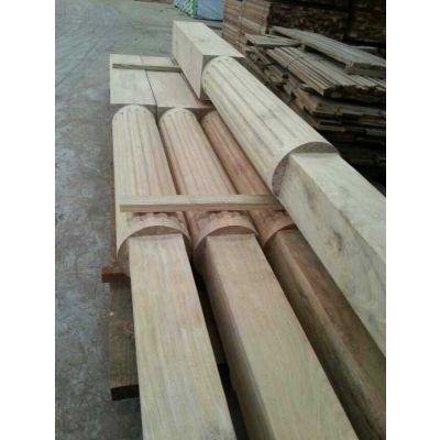 四川柳桉木踢脚线加工厂家 巴劳木板材