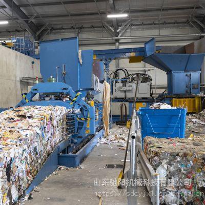 供应CYWS-200型卧式废旧编织袋饮料瓶打包机工作原理