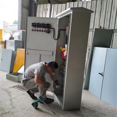 徐州台达自动化电控柜低压电控柜控制柜标号完整清晰