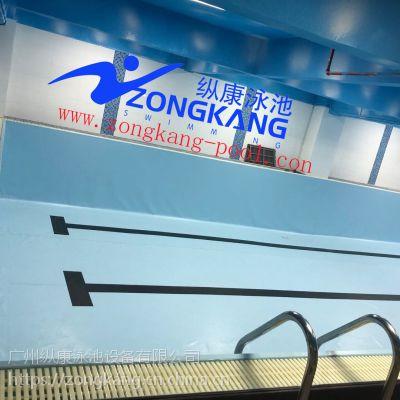 广东四会健身房钢结构-拼装式整体游泳池设备工程案例