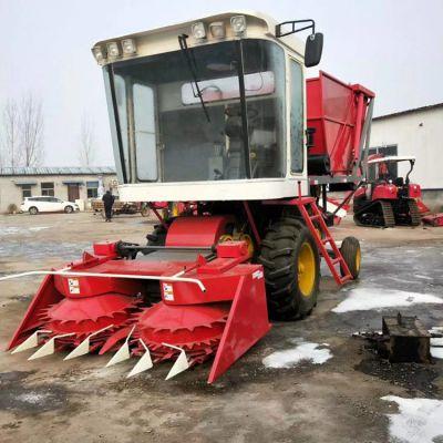 大型高速转盘式玉米青储机 自走式牧草收割机 黄储收获粉碎机 价格优惠