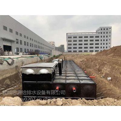 地埋式箱泵一体化施工时需甲方配合事项