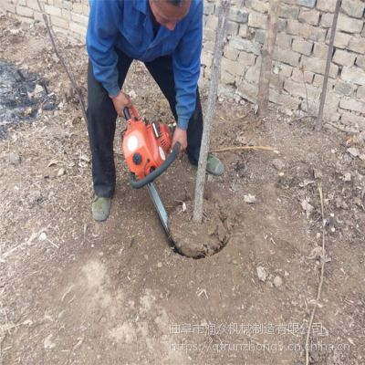 挖树机指哪锯哪 坚硬冻土刨树机 切割地面挖树机