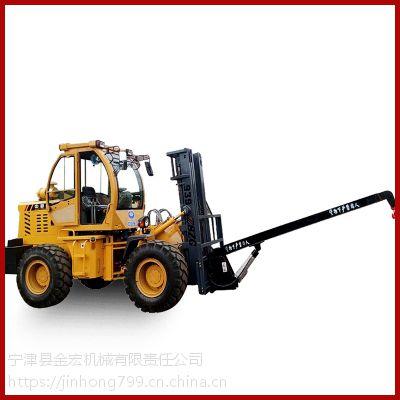 5吨内燃式叉车油田开发用大吨位四驱叉车品牌甘肃