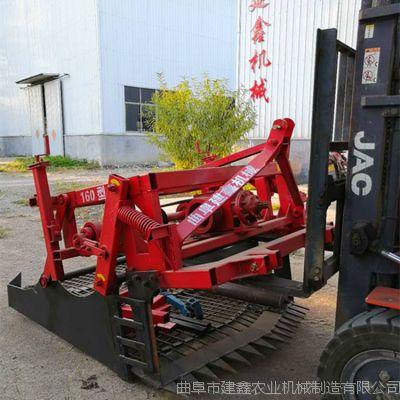 海东药材收获机厂家新款根茎药材挖掘机晃筛起药机草莓苗挖掘机