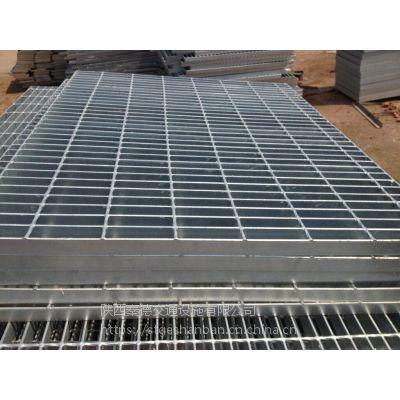 陕西神木热镀锌钢格板现货1000*1000mm 钢结构平台钢格栅板网格板