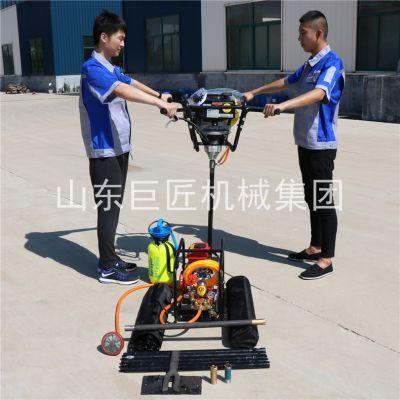 华夏巨匠BXZ-2型号山上勘探工程地质钻机汽油机动力