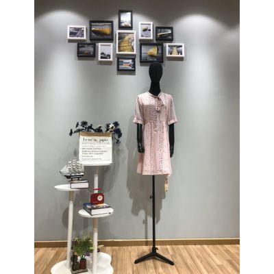 依寇品牌19夏季私人定制高端品牌波西米亚连衣裙