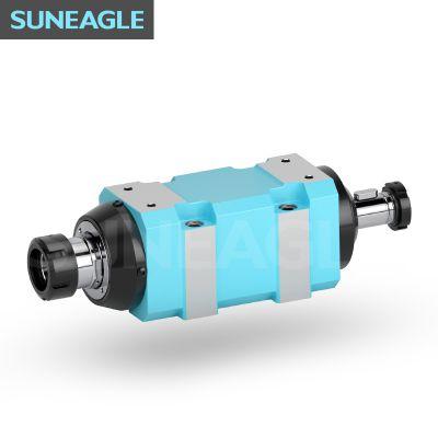 厂家直销可定制高精度钻孔防水镗铣主轴头动力头磨头镗切削铣床