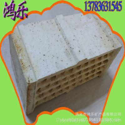 采用震动机压成型超高温烧成新工艺生产制成挡火挡板篦子砖
