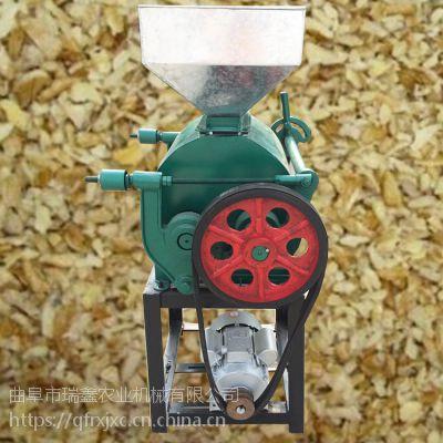 高产量油坊轧豆扁机械 黄豆压扁机 多功能花生破碎机