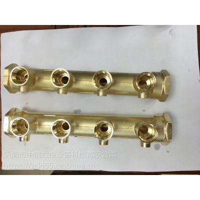 分水器专用抛光去氧化皮 代替电解 酸洗全自动中创880数控抛光机
