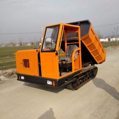 多功能履带运输车 3吨履带搬运车拉土很轻松 金旺山地运输车