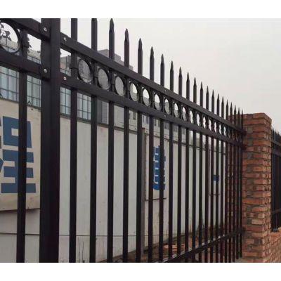 pvc塑钢护栏厂家/三横梁厂区锌钢隔离栅栏