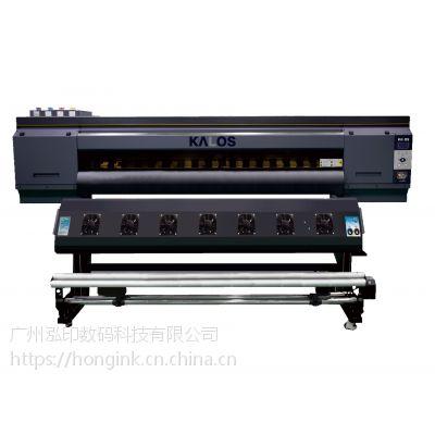 4720三喷头热转印打印机 热升华转印机 数码印花机