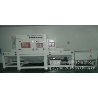 成都铝合金喷砂机专用自动喷砂机