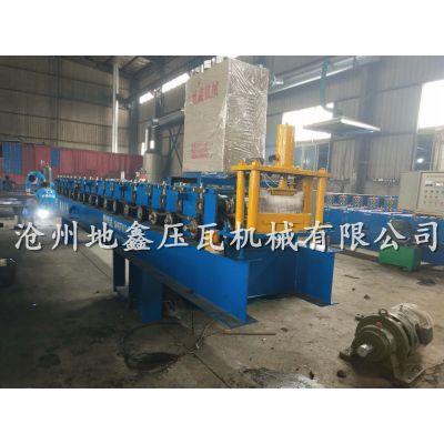 彩钢围挡板压型机 路政施工围挡设备 地鑫278围挡机
