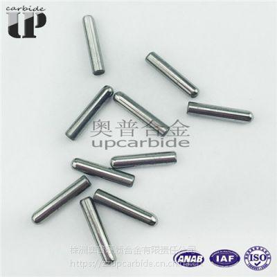 钨钴YG8硬质合金非标小圆棒 钨钢导正销 钨钢小圆柱 合金圆头棒φ2*10.1MM