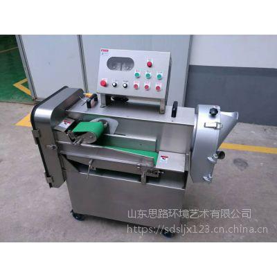 山东思路供应整机不锈钢多功能切菜机晒唐各种蔬菜水果可加工