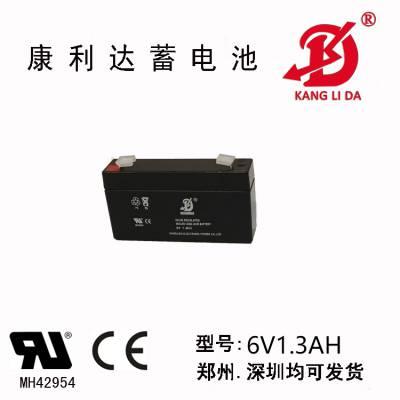 康利达6V1.3AH铅酸蓄电池用于仪器仪表等不漏酸***可靠