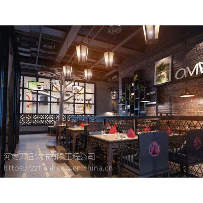 郑州特色餐厅装修设计抓住特色创造品位餐厅来源河南天恒装饰