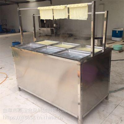 蒸汽式电加热腐竹豆油皮机