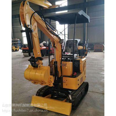 弗斯特10款多功能小型挖掘机在狭窄的工作空间发挥其优越生产能力