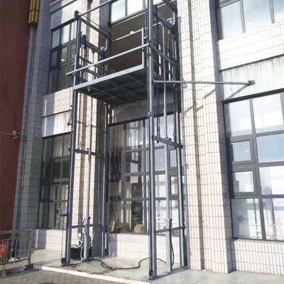 工厂直销3吨导轨式升降平台 液压式升降货梯 电动提升机