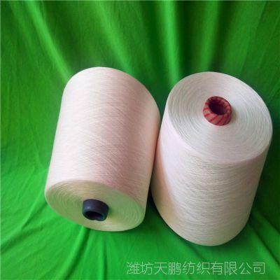 粘胶包芯纱42(20D)支涤纶长丝,竹涤包芯纱40支50支潍坊天鹏