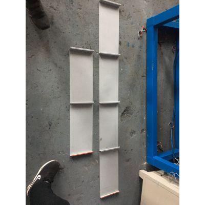 铝镁锰屋面瓦直板成型机 地鑫出售150-500自动换型矮立边设备