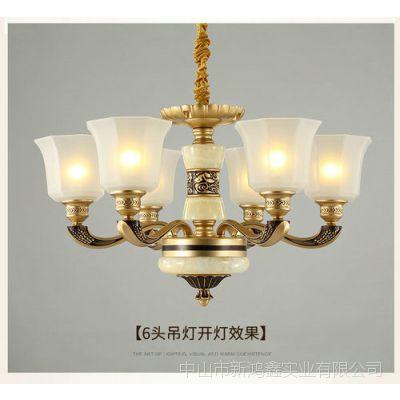 欧式客厅吊灯奢华大气餐厅吊灯简欧卧室吊灯简约现代家用灯具