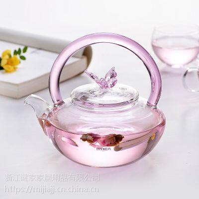 谜家/MYKEA 高硼硅耐热玻璃花茶壶BH180104
