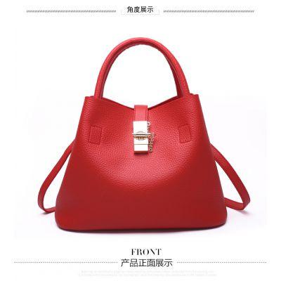 2018新款外贸时尚女包子母包欧美风范单肩包斜挎包手提包包