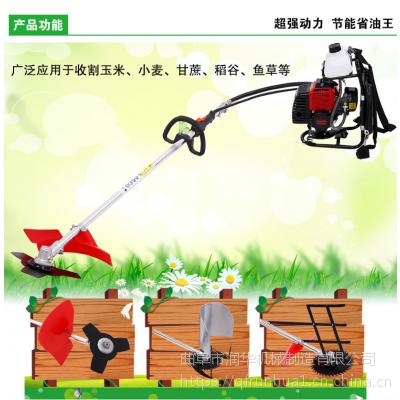 四冲程家用打草机 本田汽油的割灌机 手推式草坪割草机