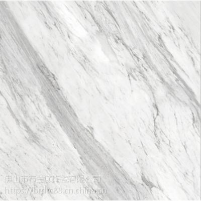 通体大理石瓷砖定制品牌爵士白金刚石大理石瓷砖厂家佛山市布兰顿陶瓷