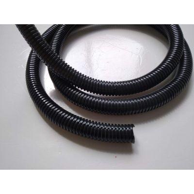 廊坊开口塑料波纹管_PA阻燃加厚穿线管_AD25电缆线保护管价格
