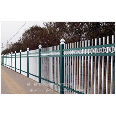 各种规格锌钢护栏厂家@喷塑白色护栏定制@尖头护栏现货包邮